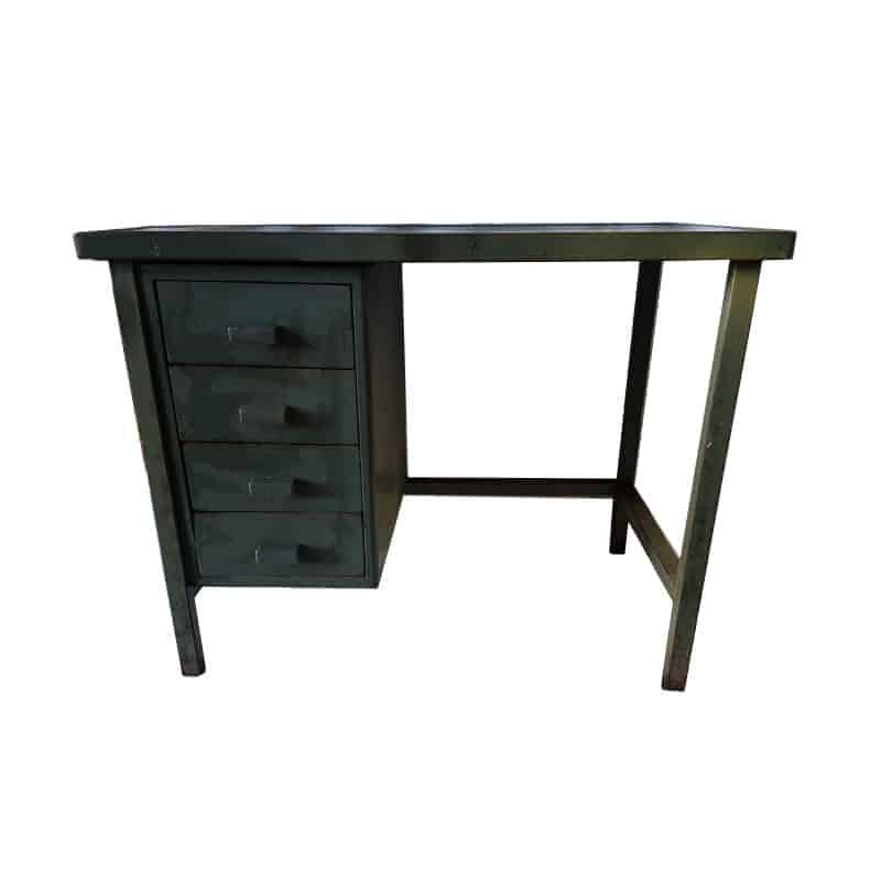 bureau en metal excellent tubes mtal tapes with bureau en metal free console with bureau en. Black Bedroom Furniture Sets. Home Design Ideas